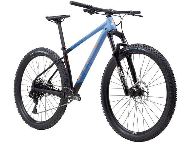 "Marin Nail Trail 6 27.5"" gloss black/bright blue/cyan/black"
